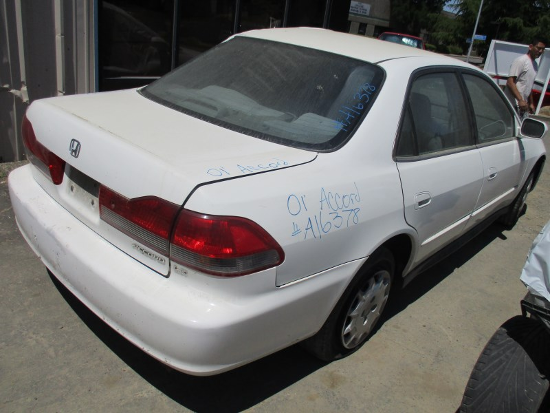 2001 honda accord lx white 2 3l at a16378 rancho honda acura recycling. Black Bedroom Furniture Sets. Home Design Ideas