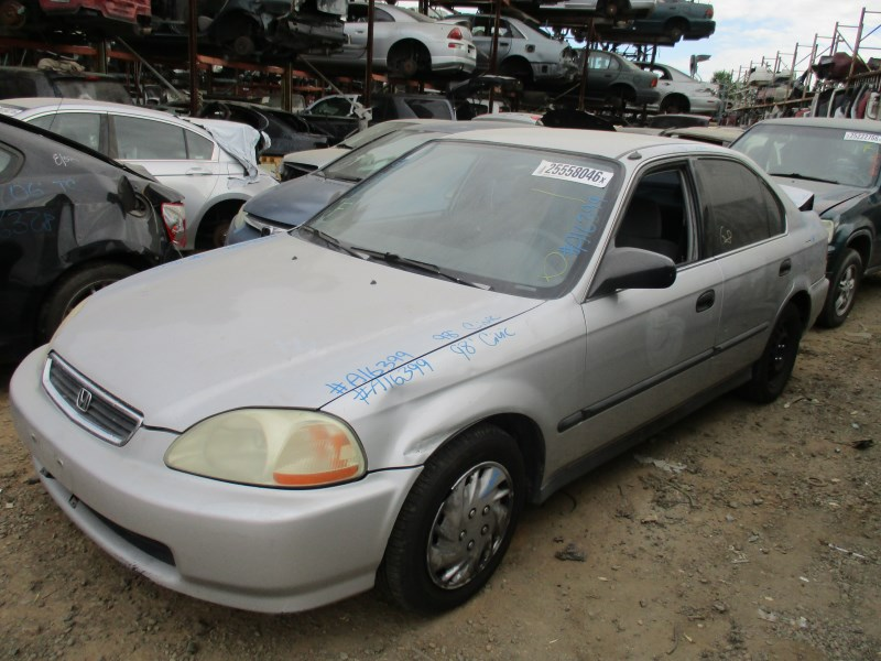 1998 honda civic lx silver 4dr 1 6l at a16399 rancho honda acura recycling. Black Bedroom Furniture Sets. Home Design Ideas