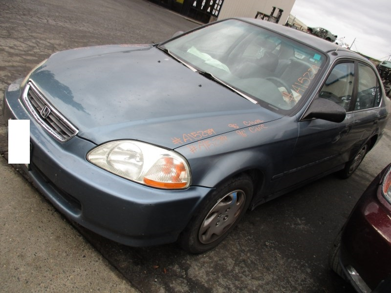 1996 honda civic lx 4dr metallic blue 1 6l at a15289. Black Bedroom Furniture Sets. Home Design Ideas