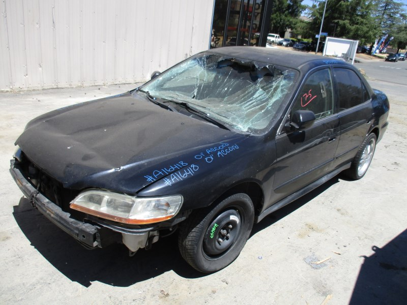 2001 honda accord lx black 2 3l at a16418 rancho honda acura recycling. Black Bedroom Furniture Sets. Home Design Ideas