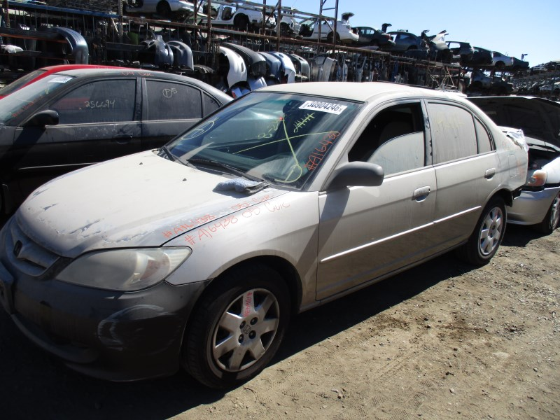 2005 honda civic lx silver 4dr 1 7l at a16438 rancho honda acura recycling. Black Bedroom Furniture Sets. Home Design Ideas