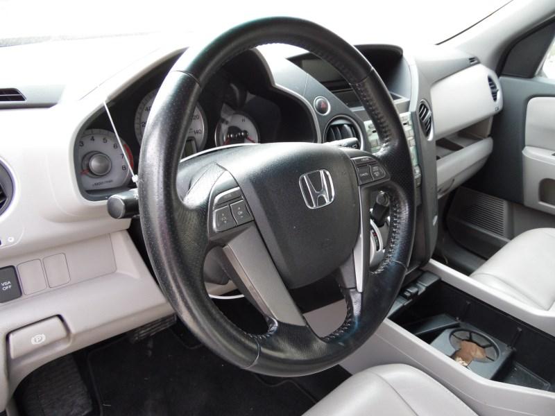 Taffeta White - 2010 Honda Pilot EX 4WD - Gray Interior ...   2010 Honda Pilot White