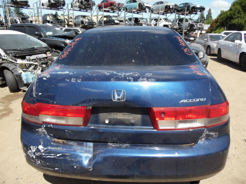 2003 honda accord lx blue 4dr 2 4l vtec at a17595 rancho honda acura recycling. Black Bedroom Furniture Sets. Home Design Ideas