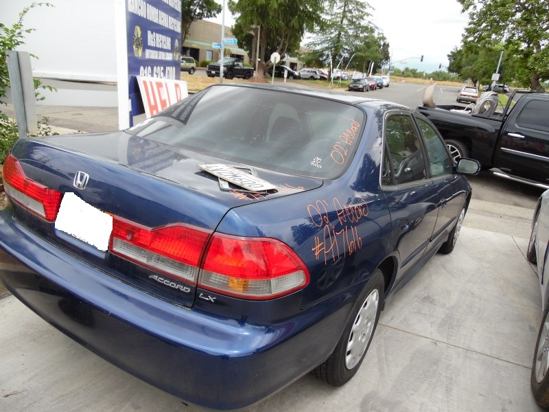 2002 HONDA ACCORD LX BLUE 2.3L VTEC AT A17616 ...