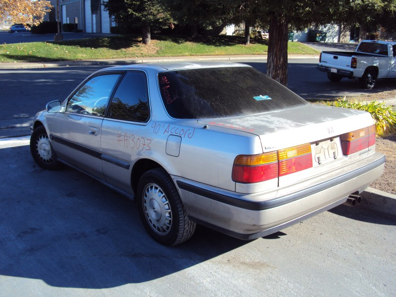 1990 Honda Accord 2 Door Coupe Ex Model 22l At Fwd Color Gold